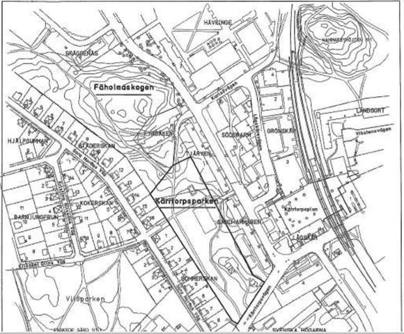 Kärrtorpsparken och Fäholmaskogen får sina namn...