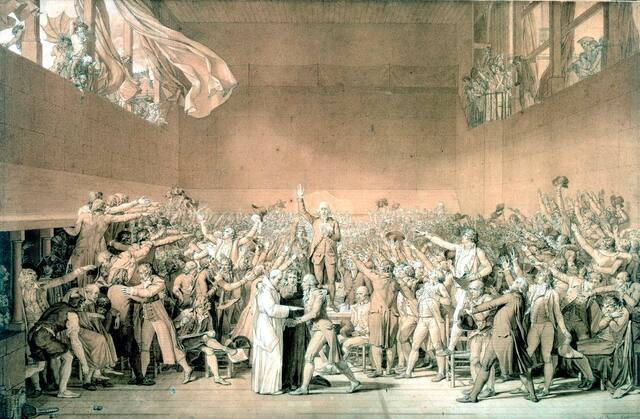 Tennis Court Oath Taken