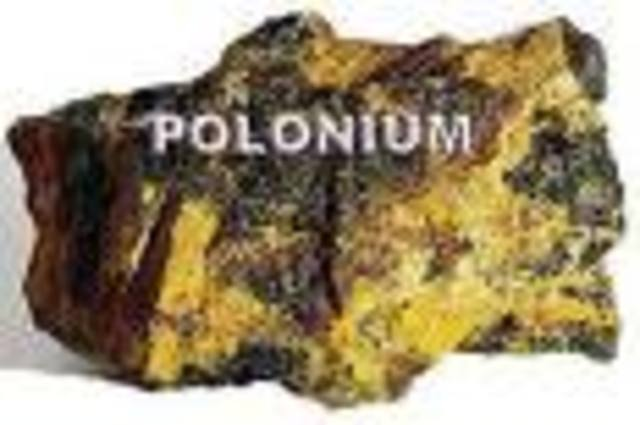 Discovery of Polonium