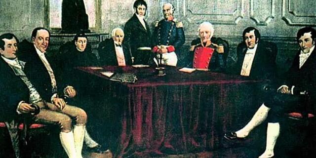 Se instaló una junta de gobierno compuesta por 28 aristócratas