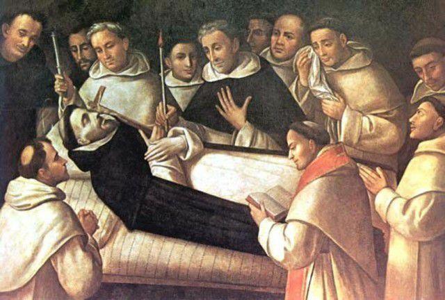 muerte de Tomas de Aquino