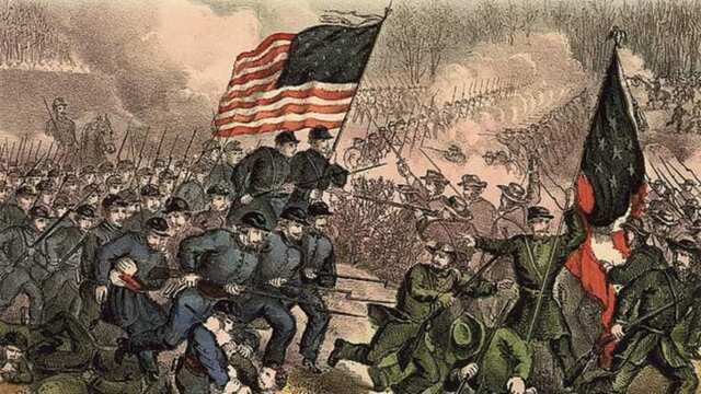 Battle of Second Bull Run.