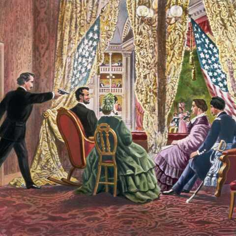 Lincoln is assassinated.