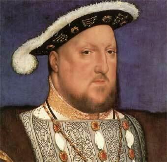 Thomas Moro entra a trabajar con el rey Enrique VIII