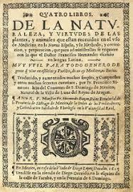 Publicación de epitome por Francisco Hernandez