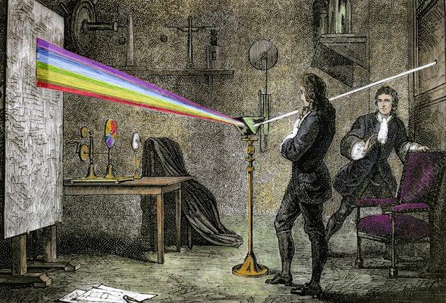 Isaac Newton 1664 -1666
