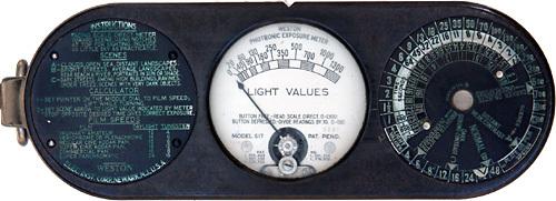 First Light Meter