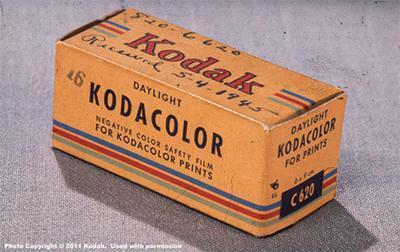 Kodacolor negative film.