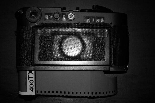 High-speed Tri-X film.