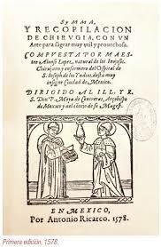 Segunda edición del libro de cirugía por Alonso López.