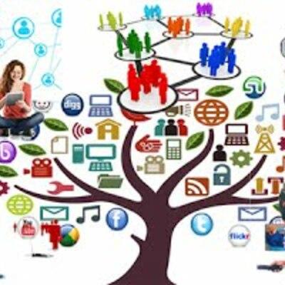 Surgimiento y desarrollo de los medios de comunicación timeline