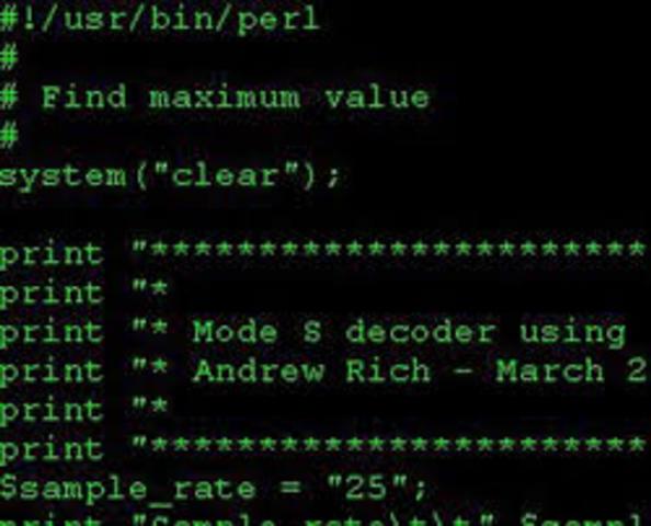 Primer lenguaje de programacion