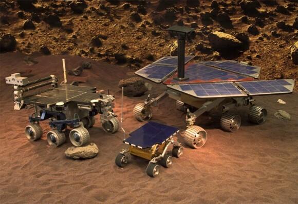 Rovers de Marte Spirit y Opportunity