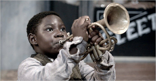 Louis Armstrong drops out of school