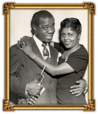 Louis Armstrong marries Daisy Parker