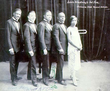 Louis Armstrong forms Hot Five and begins recording with his own band