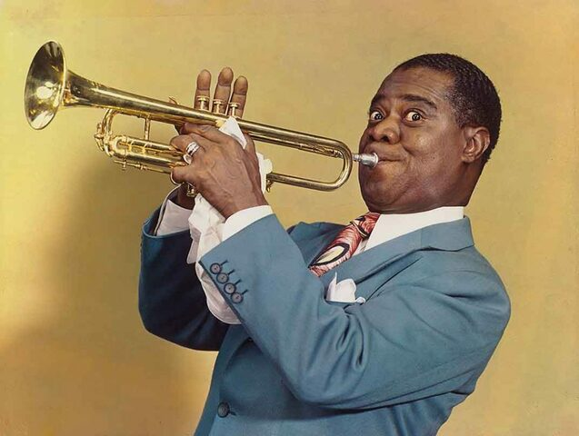 Louis Armstrong becomes the first African American to get featured billing in a Hollywood film.