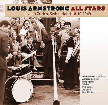 Louis Armstrong forms six piece group called the All Stars ensemble