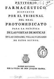 Real Tribunal del Protomedicato