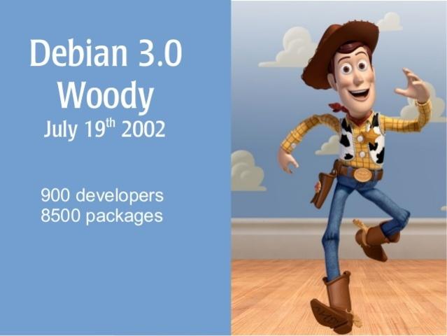 """Debian 3.0 """"Woody"""""""
