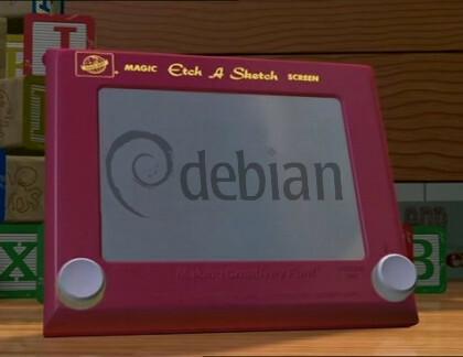 """Debian 4.0 """"Etch"""""""