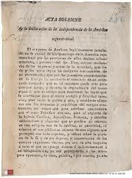 Acta Solemne de la Declaración de Independencia
