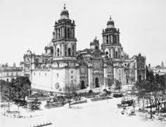 Construcción de la nueva ciudad de México