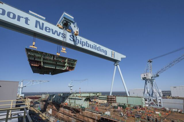 New Shipyard in Newport News
