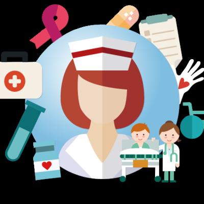 La historia y evolución de la enfermería comunitaria. timeline