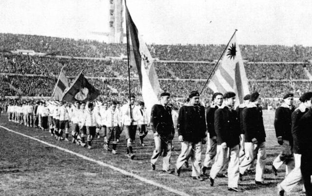 La primera copa mundial de fútbol