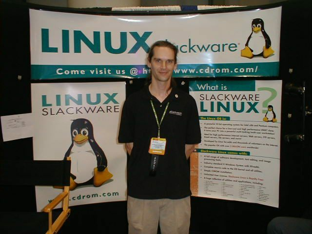 Primera versión de Slackware
