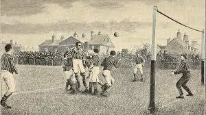 Nacimiento oficial del fútbol
