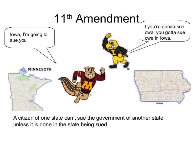 11th Ammendment