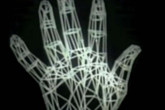 Computer Animated Hand