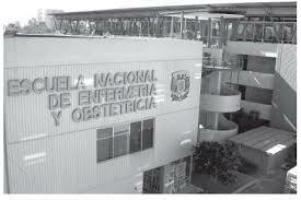 La escuela Nacional de enfermería y obstetricia.