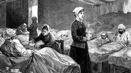 Inicios de la Enfermeria