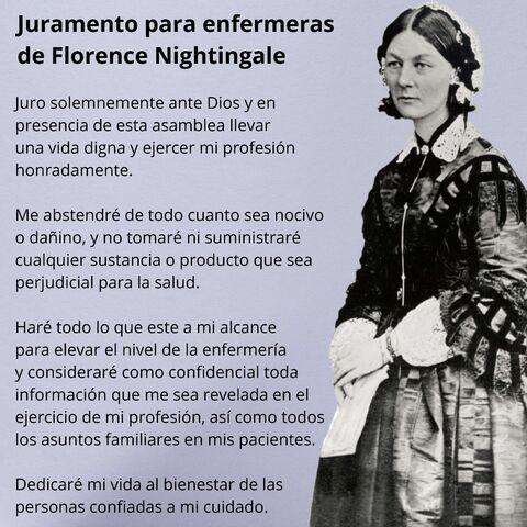 Juramento Florence Nightingale