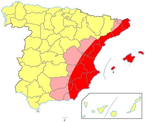 Andalucía y Levante