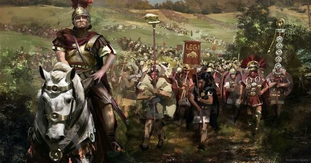 Llegada de romanos a España