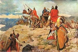 invasión germánica