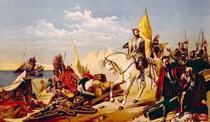 Unión de Jerónimo de Aguilar con Cortés