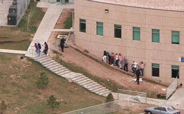 Columbine High School Shootout