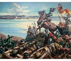 Cortés desembarca en Chalchihuecan.