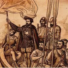 Cortés funda la Villa Rica de la Veracruz.