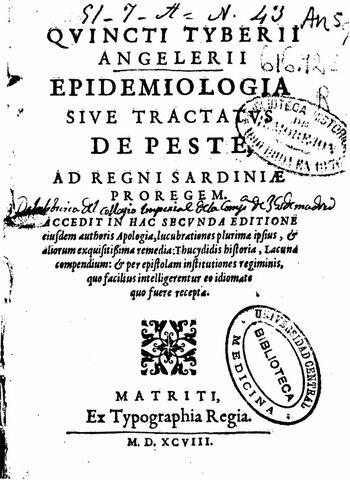 Referencia a epidemiología en castellano