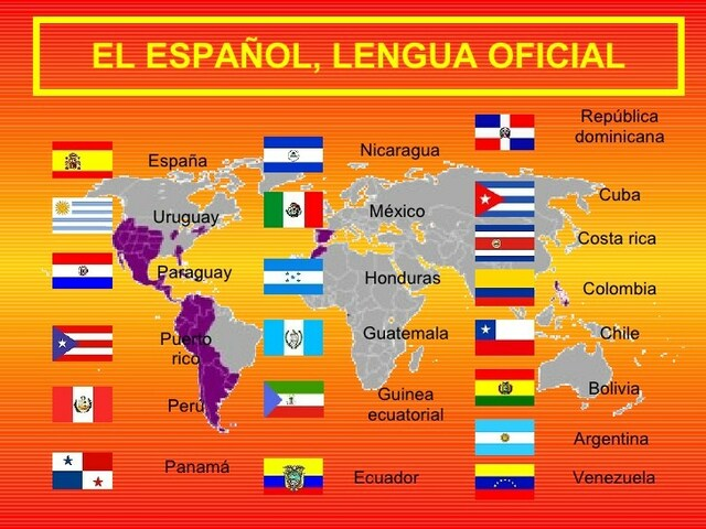 Español: lengua oficial