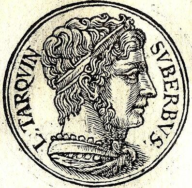 *Tarquinius Superbus: 535BC-509BC (reign) 495BC (death)