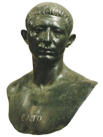 *Cato the Younger: 95BC-46BC