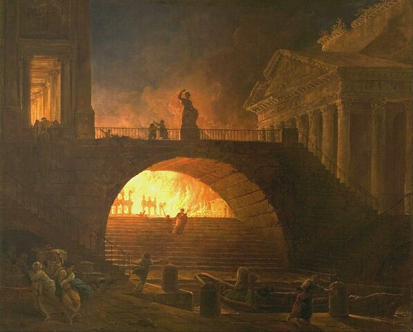 ▪︎The Great Fire of Rome