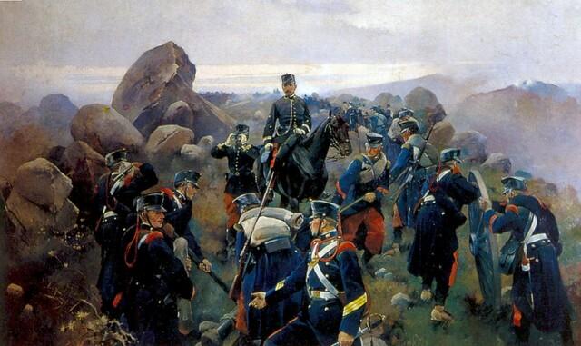 Fin de la tercera guerra carlista.